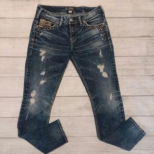 Silver Jeans | Aiko Boyfriend distressed
